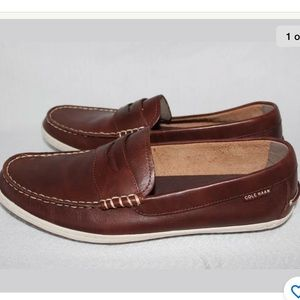 Cole Haan Sz 12 Loafers Brown 100% Leather